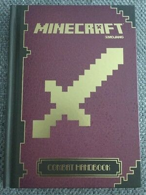 Minecraft: The Official Combat Handbook 'how To' Book For Developing Gaming