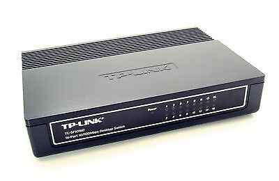 TP-LINK TL-SF1016D 16 Port Switch Ethernet Netzwerk 10/100 LAN Hub