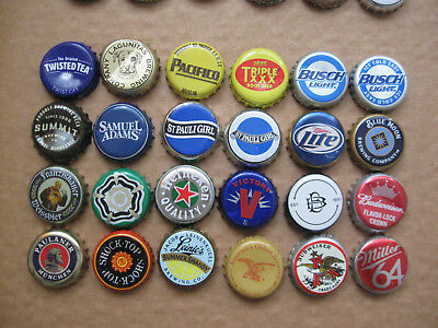 24 Usa Bottle / Beer Caps / Tops (C)
