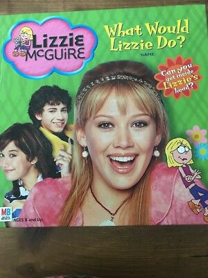 Disney Lizzie Mcguire What Would Lizzie Do? Board Game Hilary Duff Complete