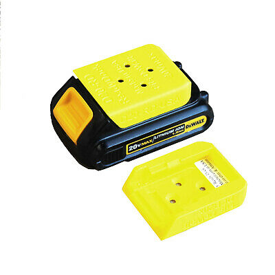 D20 Ready Dock, Cover, Mount, Store Dewalt Battery, USA >>4Pack<< PN# D20-RDx4