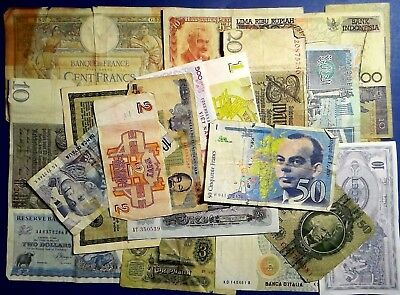 LUCK OF THE DRAW: Set of 20 Banknotes Good to Very Fine