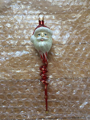 Slavic Treasures Ornament Twisted Santa - 01-513-A-FB