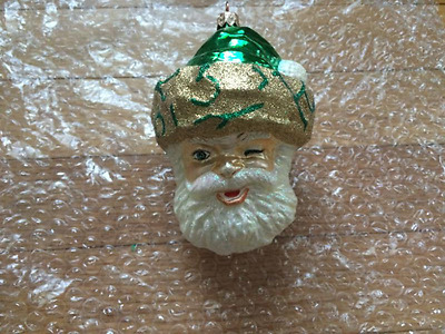 Slavic Treasures Ornament - Winter Winks Green - 00-229-A