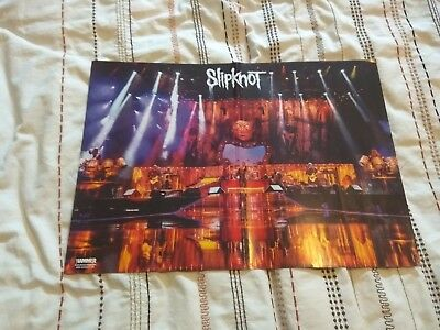 16 POSTERS: Slipknot KISS Motionless In White MARILYN MANSON Arch Enemy SLAYER