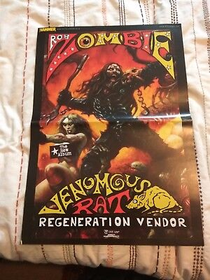 12 POSTERS: Rob Zombie BRING ME THE HORIZON Ghost IRON MAIDEN Danzig VOLBEAT