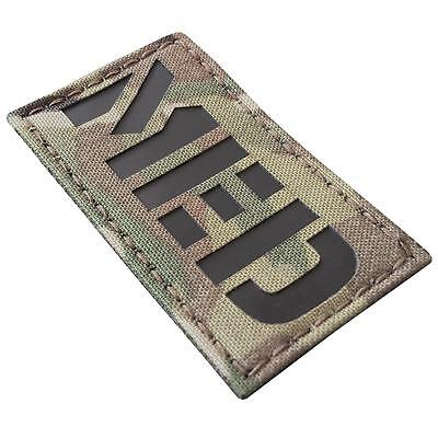 EMS MED medical infrared IR multicam morale laser touch fastener patch