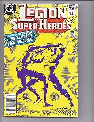 Canadian Newsstand Edition $0.75 Price Variant Legion of Super-Heroes #302