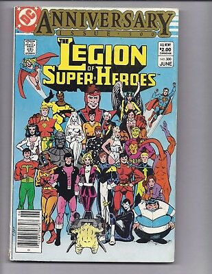 Canadian Newsstand Edition $2.00 Price Variant Legion of Super-Heroes #300