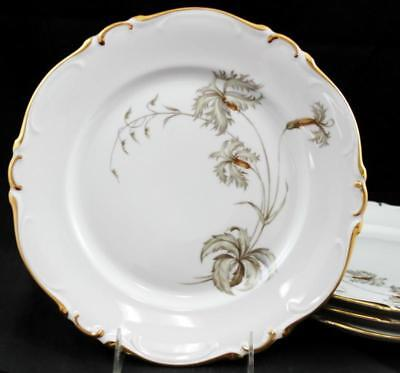 Heinrich DU BARRY 4 SMALL Dinner Plates GREAT CONDITION