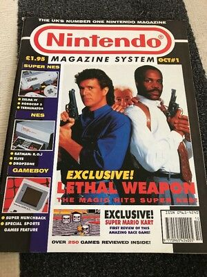 Nintendo Magazine System - Issue 1 - October 1992