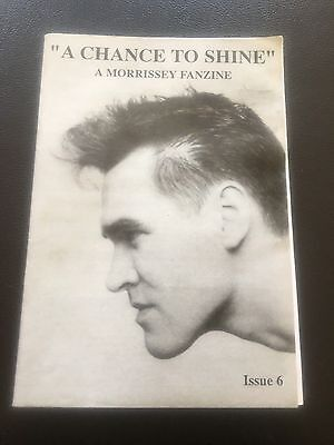 Morrissey - A Chance To Shine No 6 Fanzine 1994  The Smiths