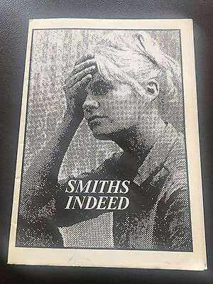 The Smiths / Morrissey - Smiths Indeed Fanzine Issue 6 November 1987