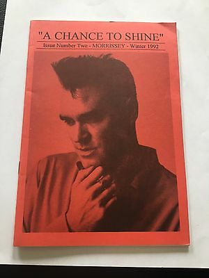 Morrissey - A Chance To Shine Fanzine Winter 1992 Your Arsenal The Smiths