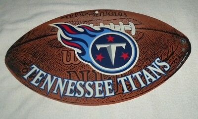 NFL : Huge Tennessee Titans Football Sign - New