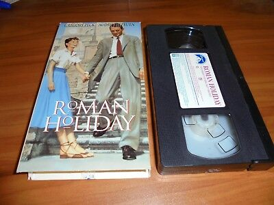 Roman Holiday (VHS, 1998) Used Gregory Peck, Audrey Hepburn