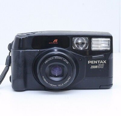 Pentax Zoom 90 AF Compact 35mm Camera 38-90mm Macro, Excellent Condition, 2358