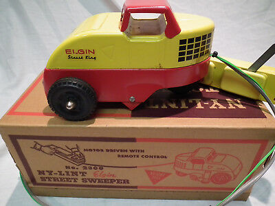 Vintage Ny-Lint Elgin Street Sweeper No 2300 With Original Box