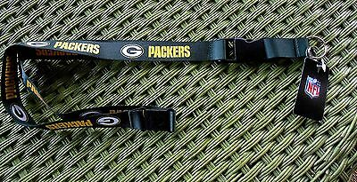 Green Bay Packers Official Nfl Lanyard-Brand New With Tag