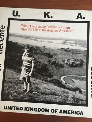 """ATTACCO DECENTE United Kingdom Of America 12"""" VINYL UK All Or Nothing 1986 5"""