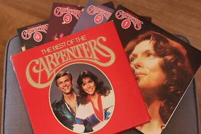 THE BEST OF THE CARPENTERS VINYL 4 LP BOX SET. READERS DIGEST retro VINTAGE 1960