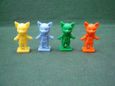 1970s Kelloggs Cereal Giveaways Sooty Kipper Plastic Figure in 4 Colours