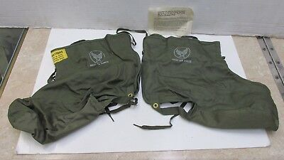 WW2 US AAF Army Air Force Electric Shoe Inserts for F2 F3 Heated Flight Suit NOS