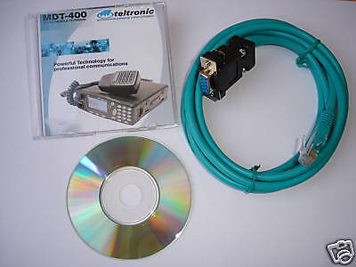Programming MDT400 DT410 Cable for TELTRONIC MDT- 400 Tetra Radio DT-410