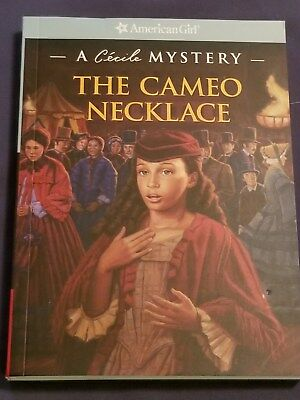 AMERICAN GIRL book THE CAMEO NECKLACE A Cecile Mystery sc brand new