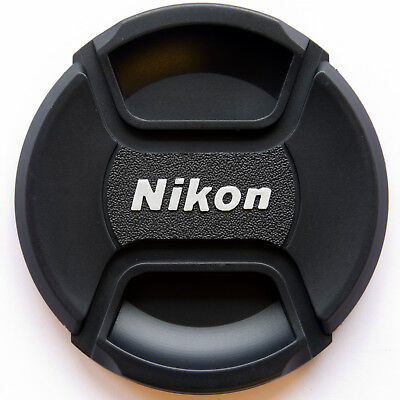 LC-77 Centre Pinch lens cap for Nikon Lenses fit 77mm filter thread - UK Seller
