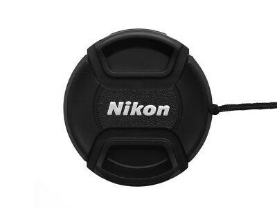 LC-58  Centre Pinch front  lens cap for NIKON  58mm filter thread - UK STOCK
