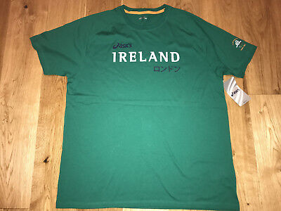 Team Ireland Issued Shirt Asics 2012 Olympics Athletic - Brand New With Tags