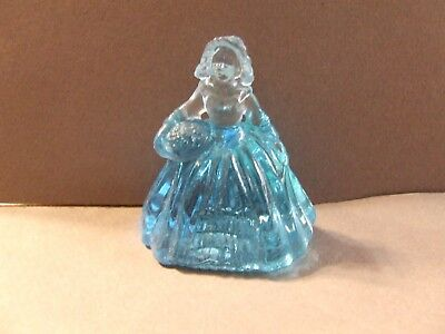 Vintage Boyd Glass # 11 Teal  Elizabeth Colonial Doll 2.5""