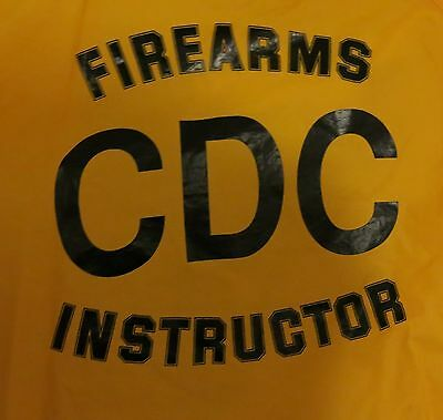 VTG California Department of Corrections Firearms Instructor Yellow Jacket XL