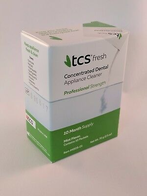 TCS Appliance Cleaner - Flexible Dentures and much more - 10 Months Cleaning