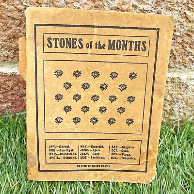 Stones Of The Months - Rapoza - Vintage Book Of Birthstones, Legends & Lore