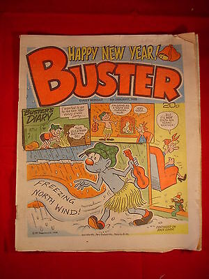 The Buster Comic - 5th January 1985