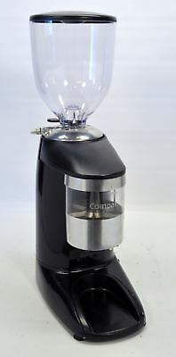 Compak K10 Conic Espresso Coffee Bean Grinder Conical Burrs Doser NEW Hopper