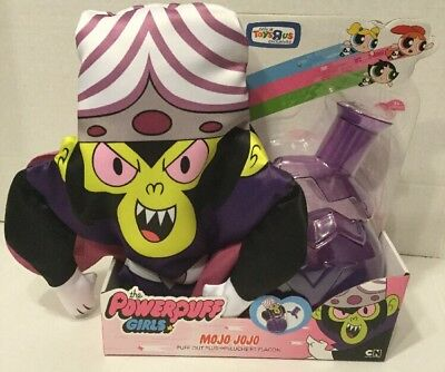 Power puff Girls Puff Out Plush Mojo Jojo Toys R Us Exclusive