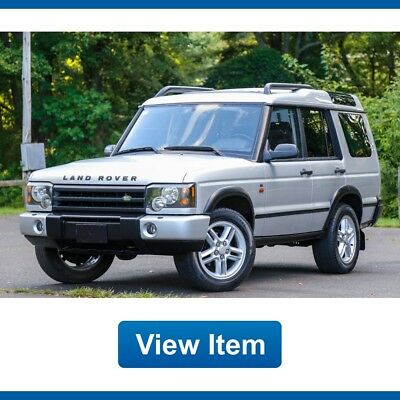 2004 Land Rover Discovery SE Sport Utility 4-Door 2004 Land Rover Discovery SE Serviced  Low 82K mi Diff Lock Loaded
