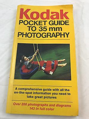 KODAK POCKET GUIDE TO 35mm PHOTOGRAPHY 1983 EDITION Good CONDITION CLEAN