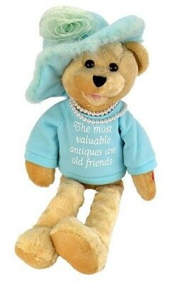 "Chantilly Lane Pearl's Wisdom 48cm T-Shirt sings ""That's What Friends Are For"""