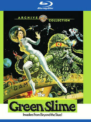 The Green Slime [New Blu-ray] Manufactured On Demand, Subtitled, Amaray Case,