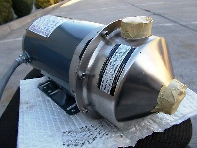 American Stainless Pumps Model SSPC Centrifugal Water Pump 3 HP 3 Ph 230/460 Vac