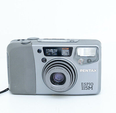 Pentax Espio 115M AF Zoom Compact Camera 38-115mm, Excellent Condition, 2116