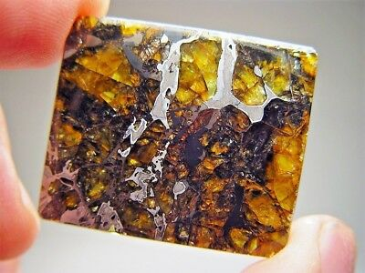 Museum Quality! Large Gorgeous Crystals! Stable! Amazing Admire Meteorite 16 Gms