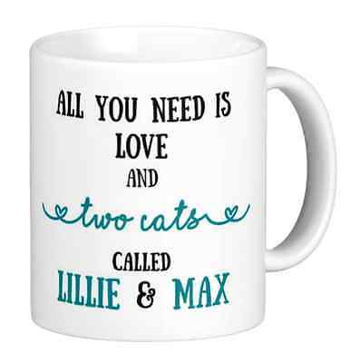 Personalised Pet Dog Cat animal lover Mug cute birthday, funny can add message