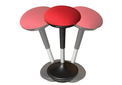 WOBBLE STOOL Adjustable Height Active Sitting Chair. The Perfect Ergonomic Stand
