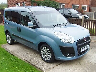 Fiat Doblo  Elaganza Wheelchair Access Car Disabled Accessible Mobility Vehicle