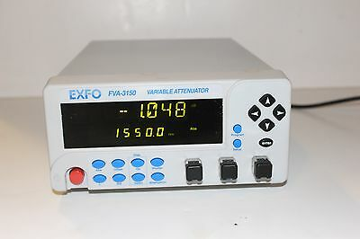 Exfo Fva-3150 Optical Variable Fully Programmable Attenuator Mfd:2012